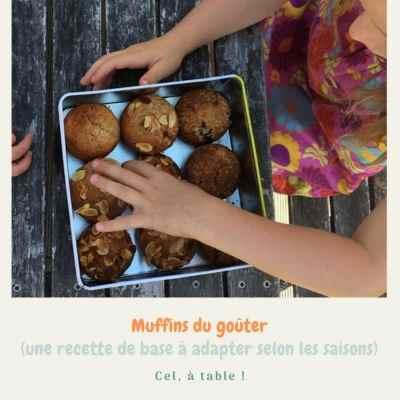 muffins du goûter