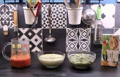 ingrédients pour lasagnes aux blettes