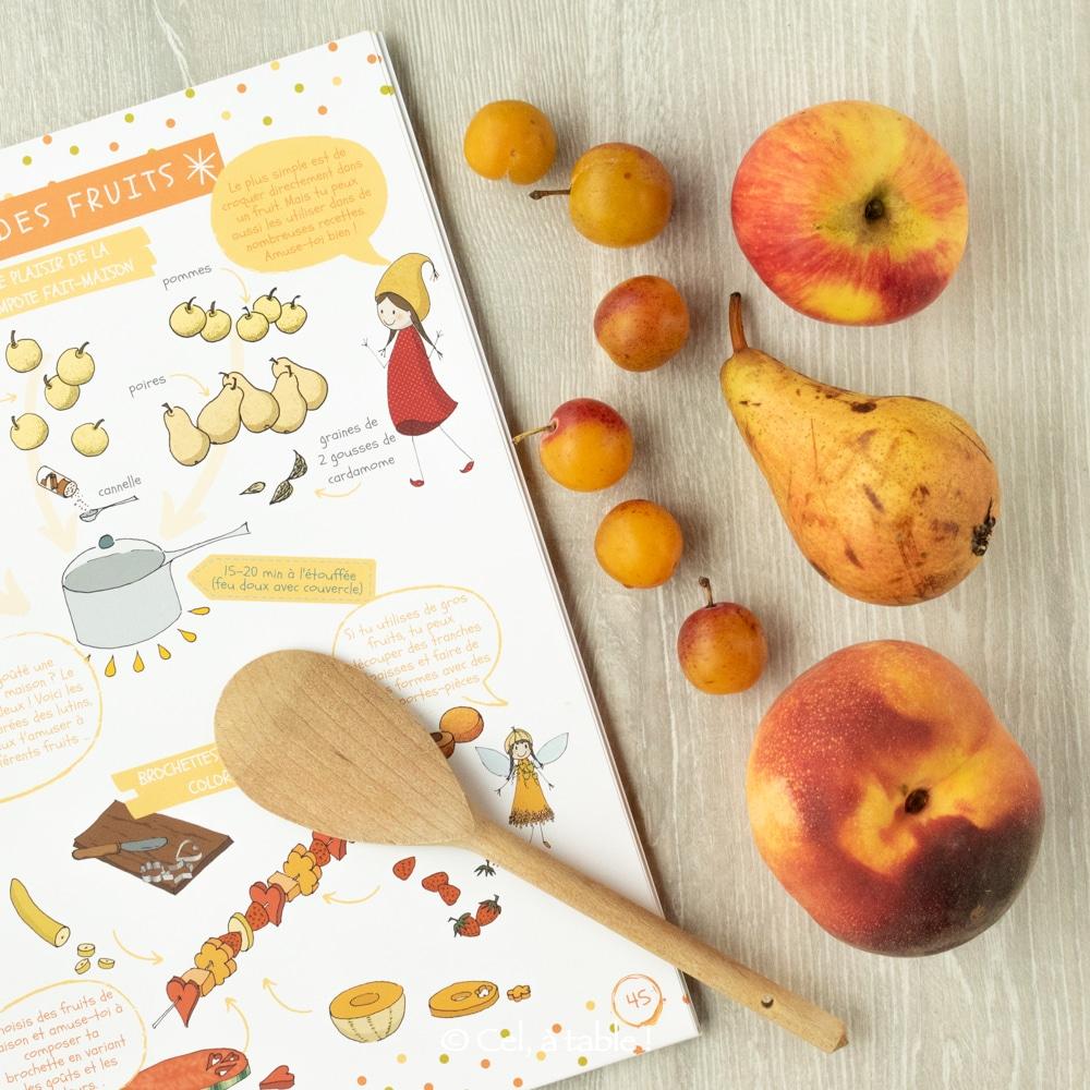 4 recettes autour des fruits