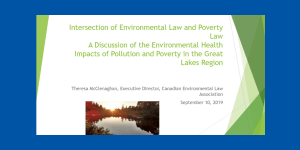 Intersection of Environmental Law and Poverty Law