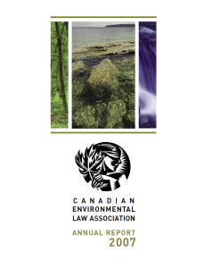 Annual Report, 2007