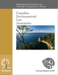 Annual Report, 2010