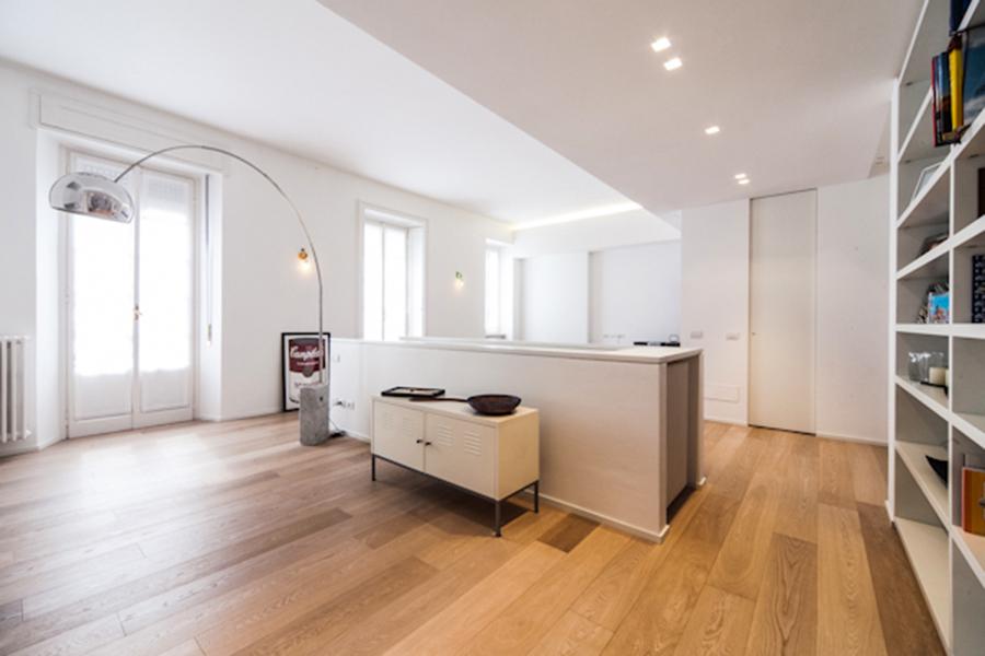 Ristrutturazione Di Un Appartamento Duplex Architettura