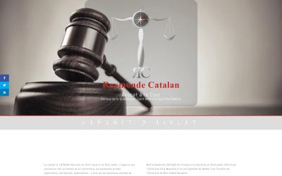 Raymonde Catalan, Cabinet d'Avocat