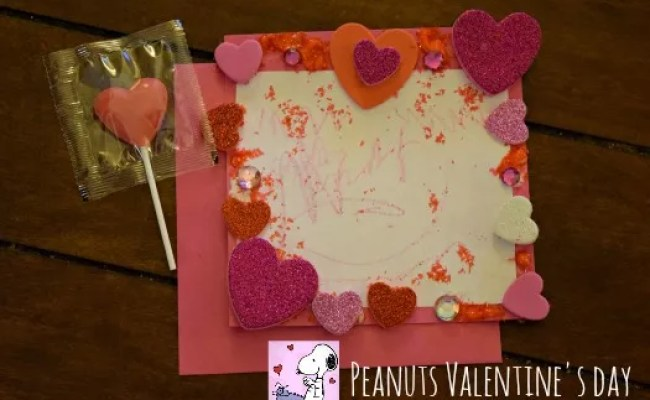 Celebrate Valentine S Day With A Peanuts Themed Party