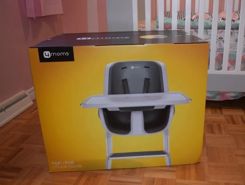 4moms high chair review armless upholstered slipcover highchair celeb baby laundry