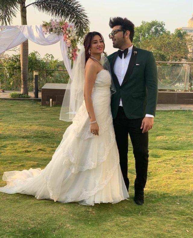 Paras Chhabra with Mahira Sharma