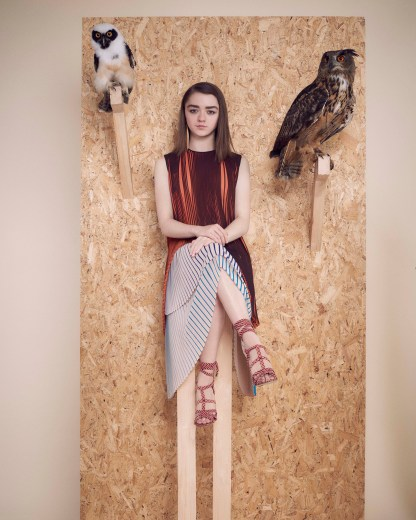 Maisie Williams InStyle UK April 2016 HQ 2