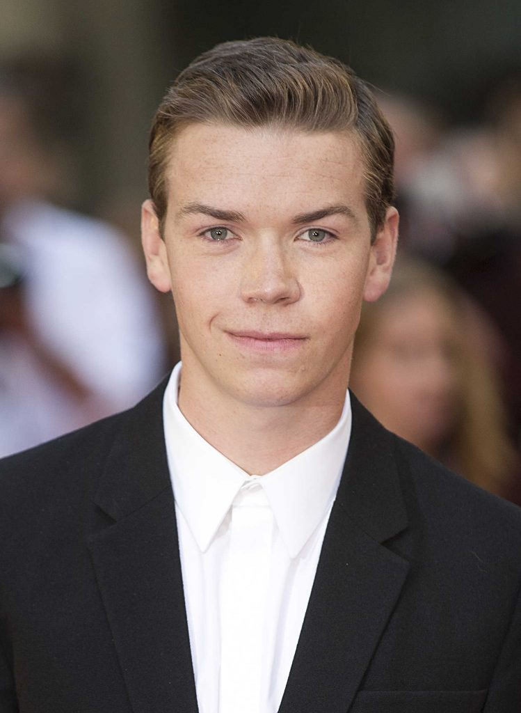 Will Poulter at Britain Detroit Premiere in London