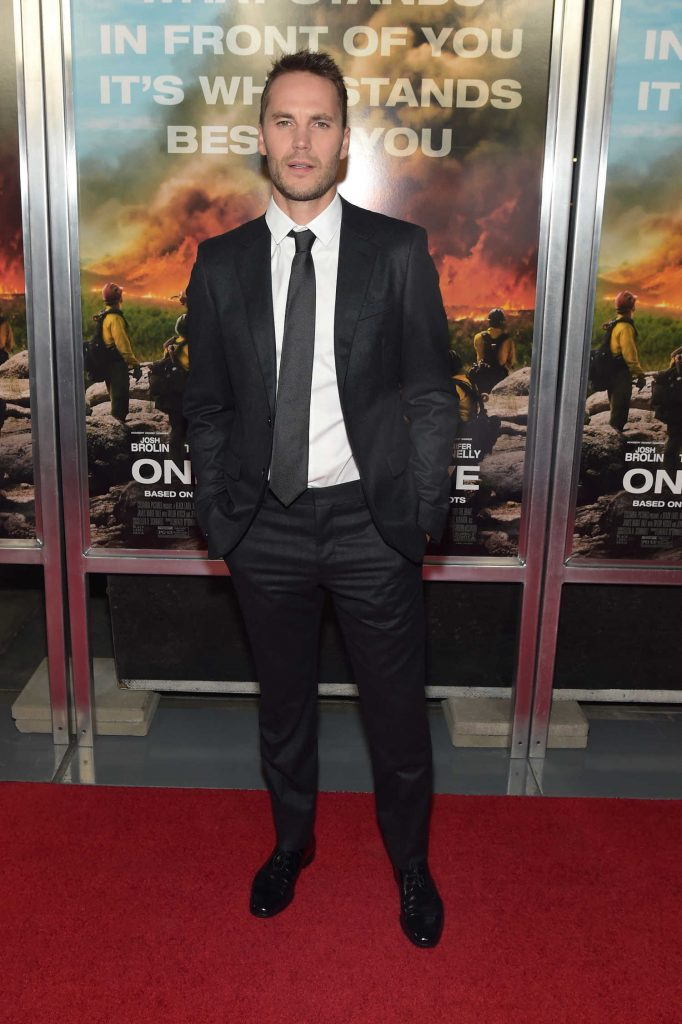 Taylor Kitsch at Only The Brave Screening in New York City – Celeb Donut