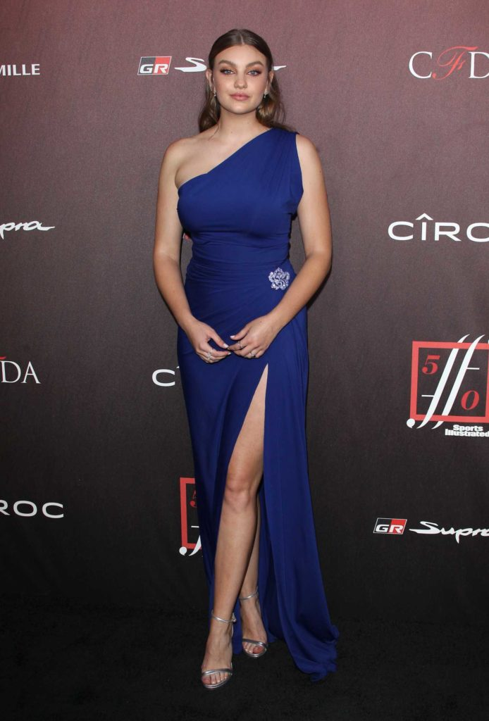 Olivia Brower Attends The 4th Annual Sports Illustrated
