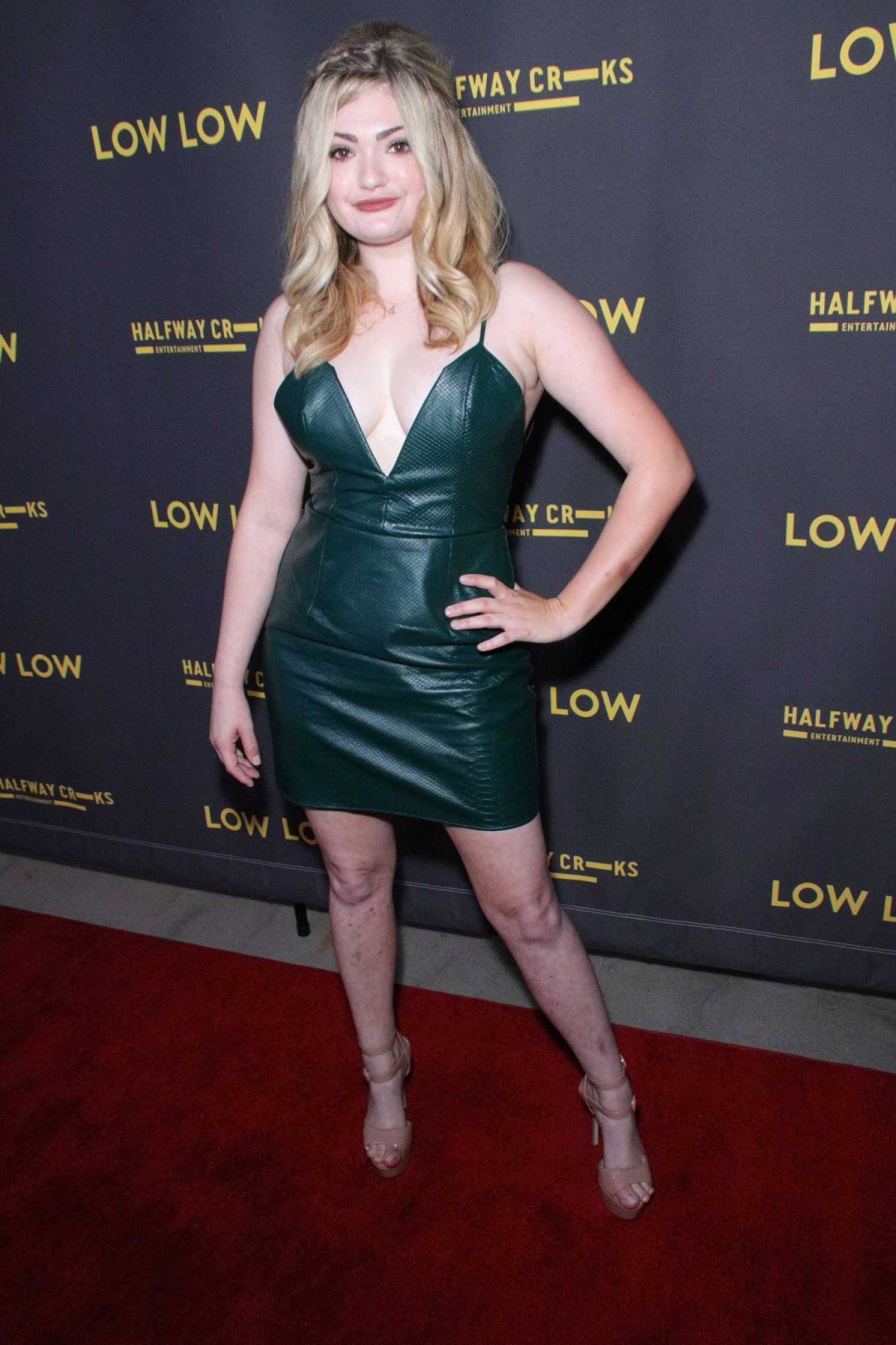 Alexis Raich Attends The Low Low Premiere At Arclight