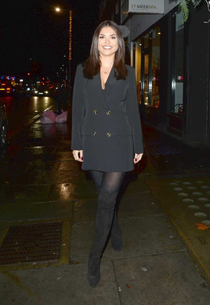 India Reynolds Attends The La Lox Launch Party London