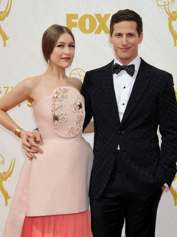 Andy Samberg And Joanna Annual Primetime Emmy
