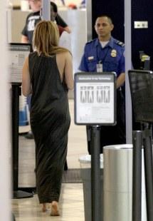 Miley Cyrus Depart Lax Airport In Los Angeles