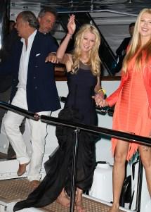 Tara Reid Leaving Yacht Party In Cannes Celebrity Feet