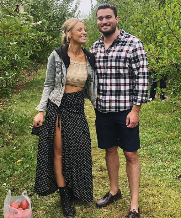 Carley Shimkus Together With Her Husband