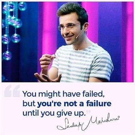 sandeep maheshwari motivational quote - celebinfo.wiki - images