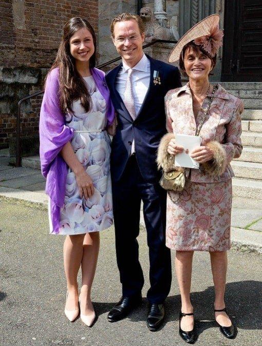 Princess Maria Teresa with nephew Prince Jaime de Bourbon Parme and his wife Princess Viktoria de Bourbon-Parma - celebinfo.wiki - images