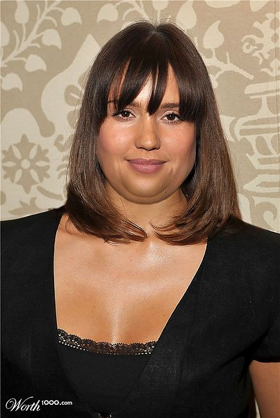 What If Celebrities Were Fat?