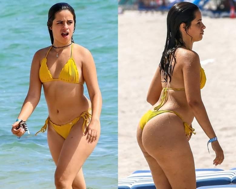 Camila Cabello thong ass