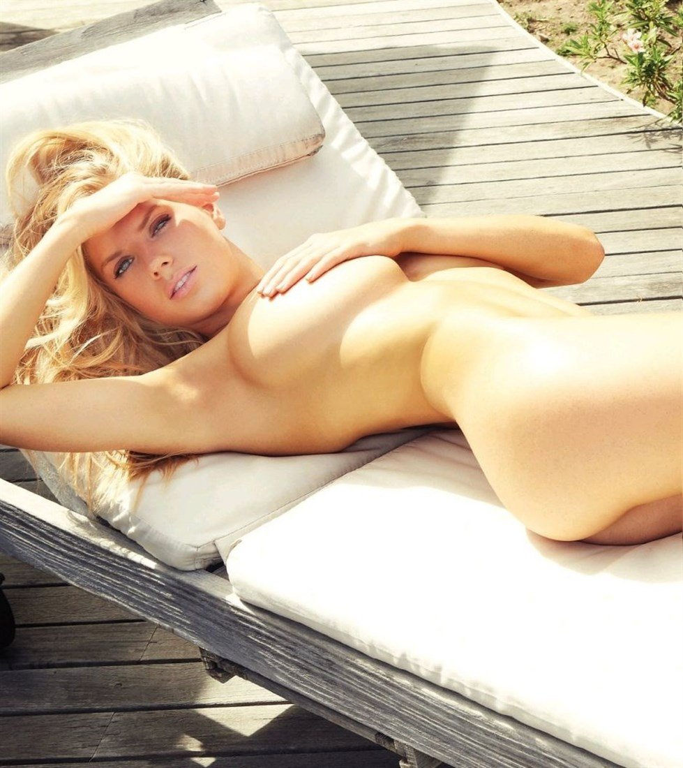 Charlotte McKinney Covered Nude Photo Shoot For The French