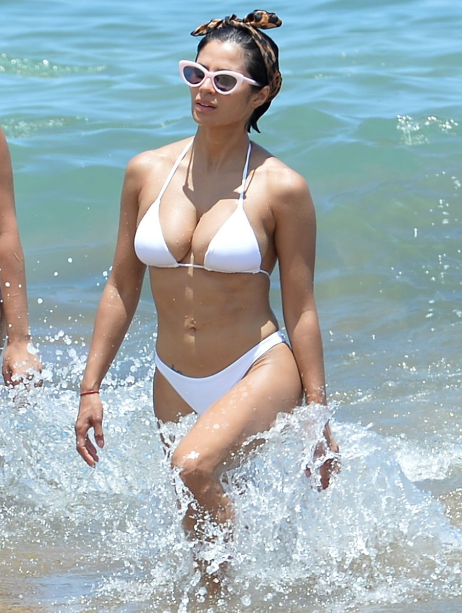 Diane Guerrero Candid Beach Bikini Pics