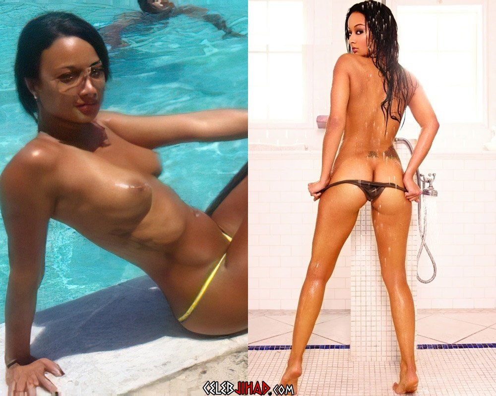 Draya Michele Nude Tits And Ass Compilation