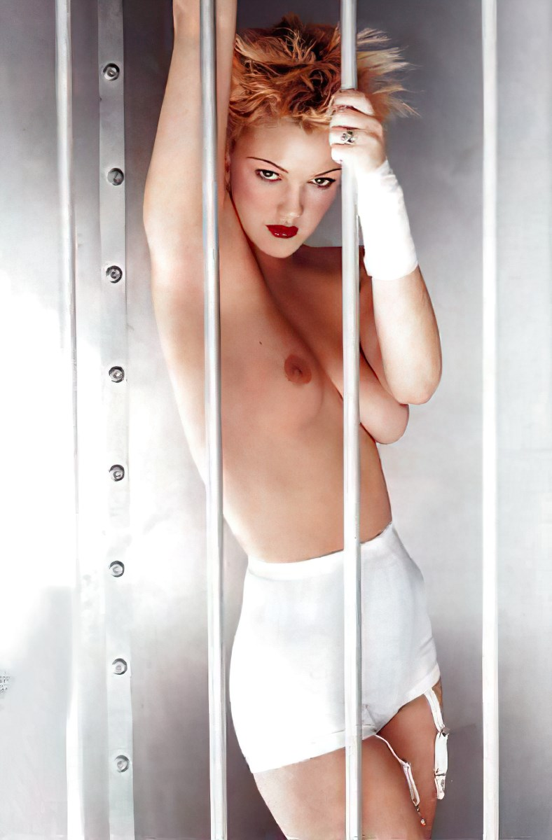 Drew Barrymore Nude Playboy Photo Shoot Enhanced