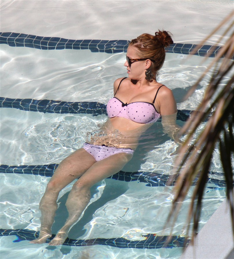 Katy Perry Bikini Candids In Miami