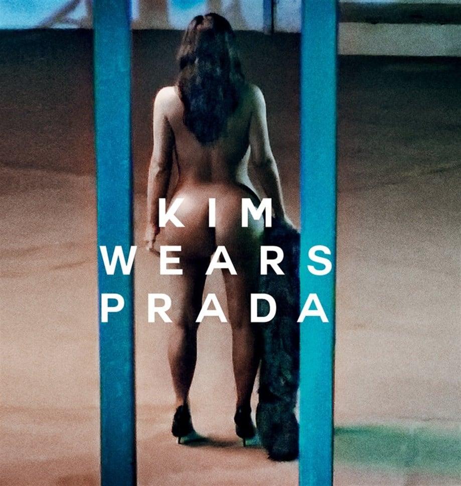 Kim Kardashian Completely Nude In Love Magazine