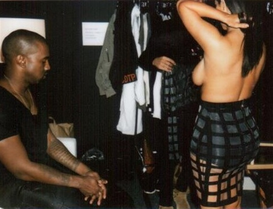 Kim Kardashian Topless Behind-The-Scenes Photos Leaked
