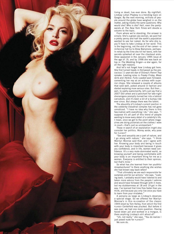 Lindsay Lohan's Playboy Pics Have Leaked