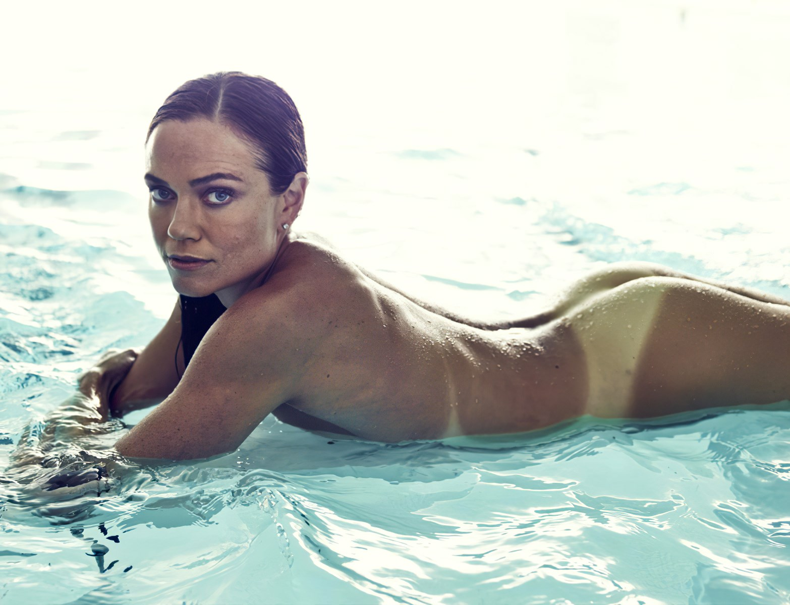 US Olympic Swimmer Natalie Coughlin Pussy Slip In Nude Outtakes
