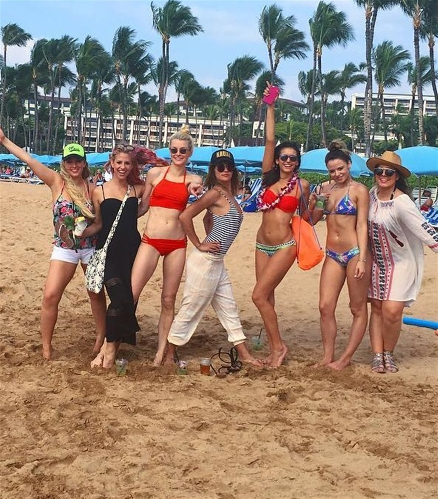 Nina Dobrev Bikini Pics From Hawaii