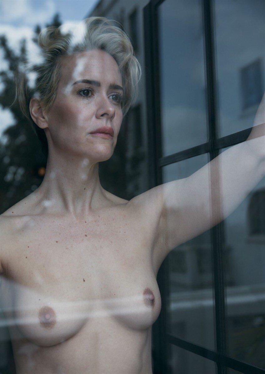 Sarah Paulson Nude Photo Shoot