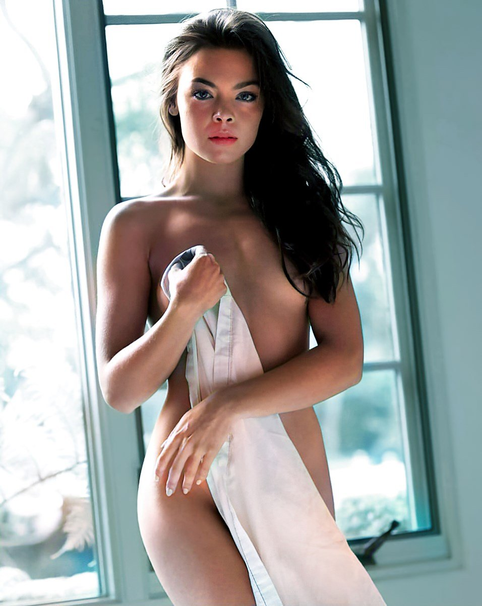 Scarlett Byrne Nude Photo Shoot Colorized