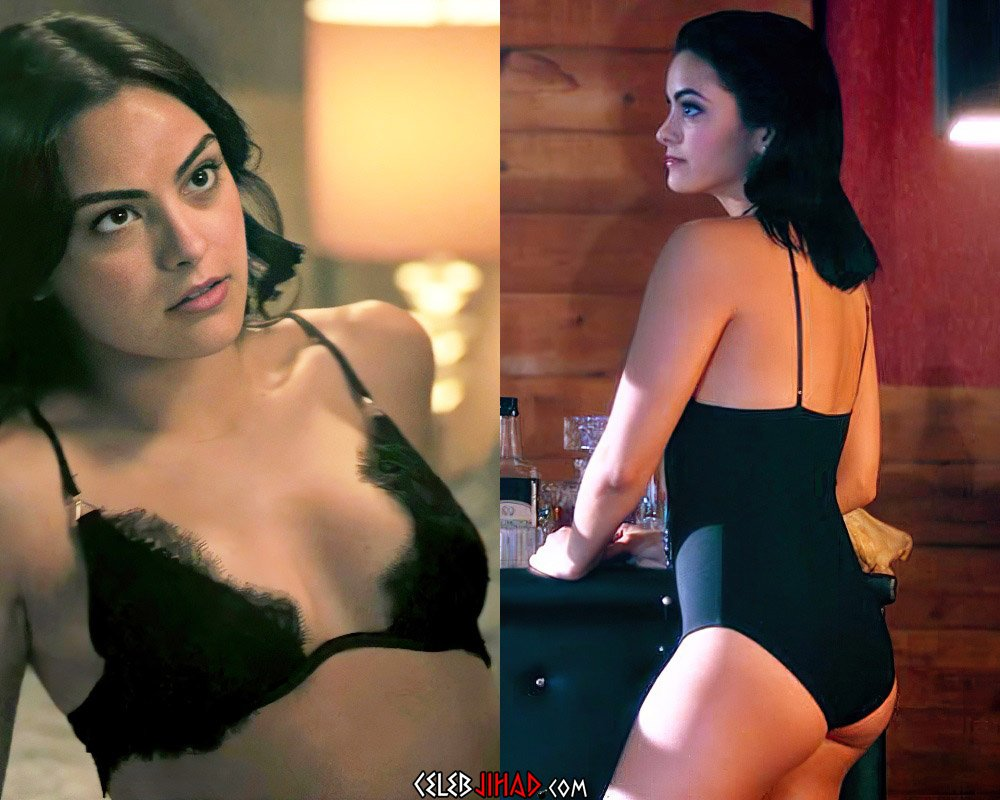 Camila Mendes Flaunting And Twerking Her Ass