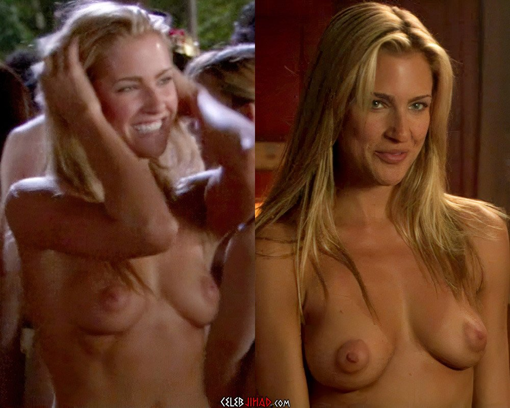 Candace Kroslak's Nude Tits And Butthole