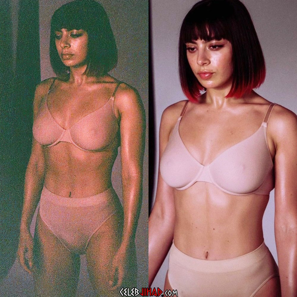 Charli XCX Big Tits And Nips Compilation