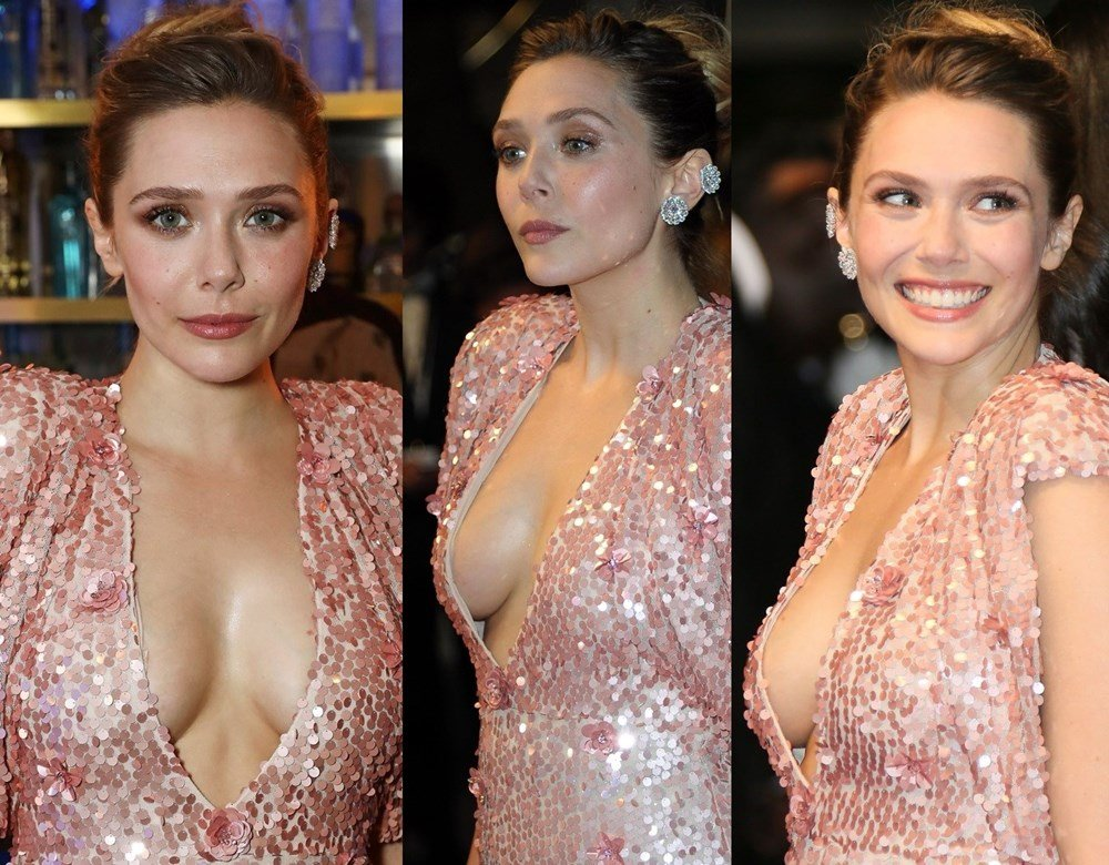 Elizabeth Olsen's Nude Debut Remastered And Enhanced