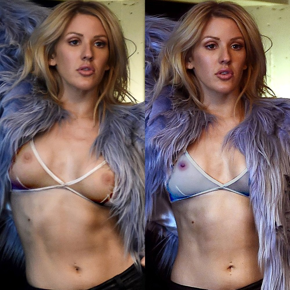Ellie Goulding Previews Her Nude Pics