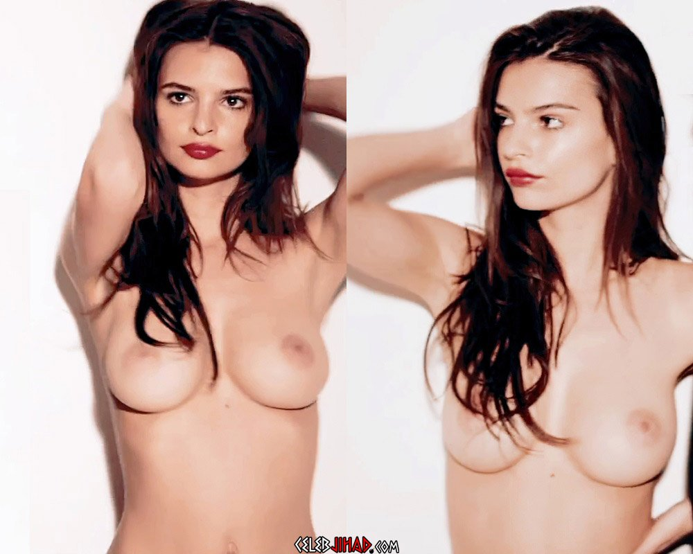 """Emily Ratajkowski Nude Scenes From """"Blurred Lines"""" Color-Corrected And Enhanced"""