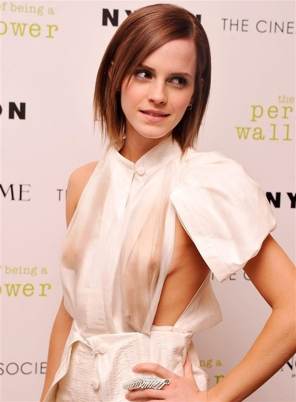 Emma Watson Shows Her Boobs In Real Leaked Photos