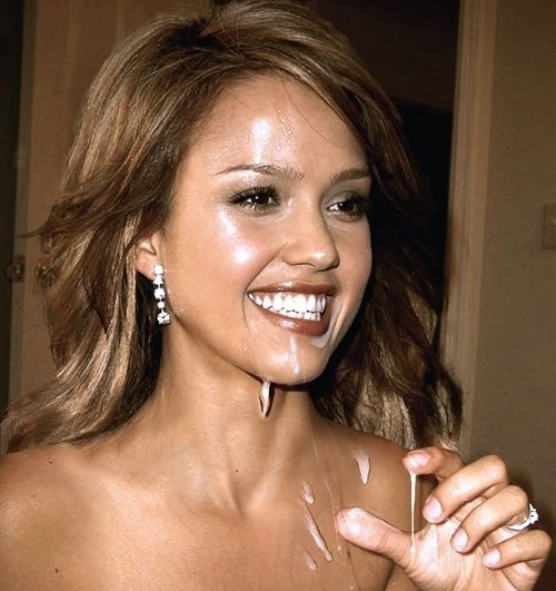 What Is That On Jessica Alba's Face?
