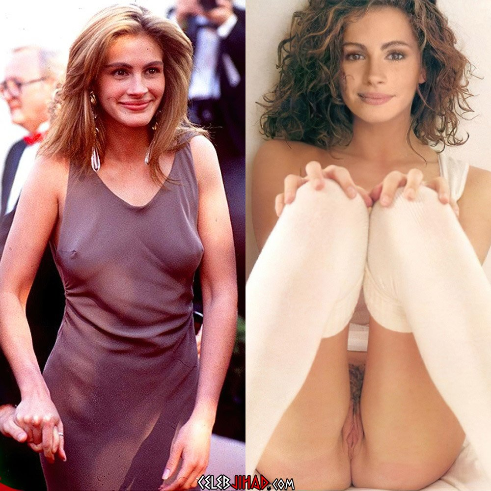 """Julia Roberts Nude Nip Slips From """"Pretty Woman"""" Uncovered"""