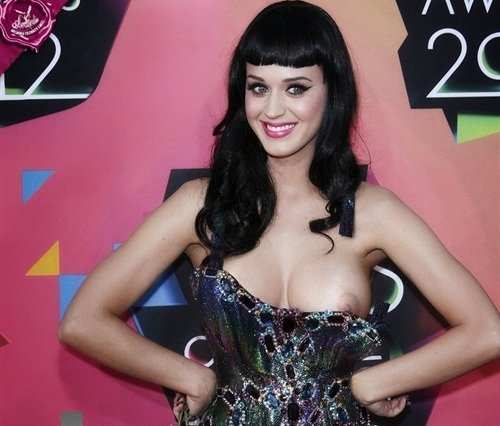 Katy Perry Full Breast Nip Slip
