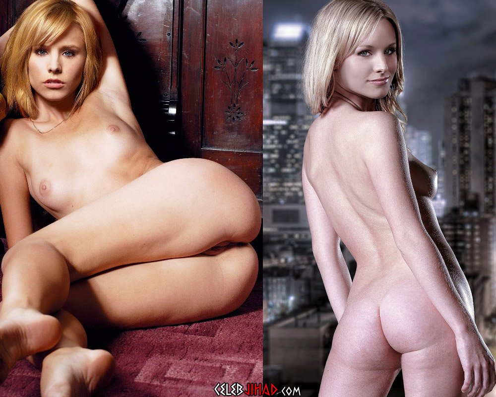 Kristen Bell Nude Spread Eagle And Ass Flaunting