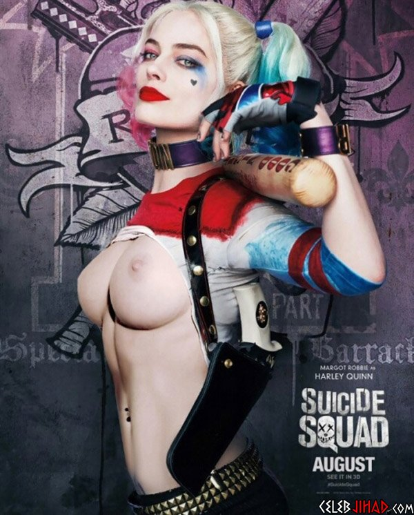 "Margot Robbie Naked In ""Suicide Squad"""
