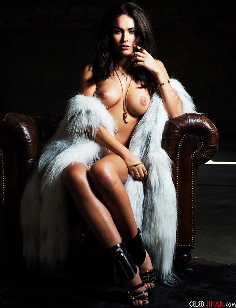 Megan Fox Braless See Through Nipple